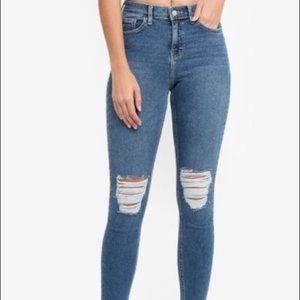 TopShop Jamie Skinny Jeans Size 26 Tall
